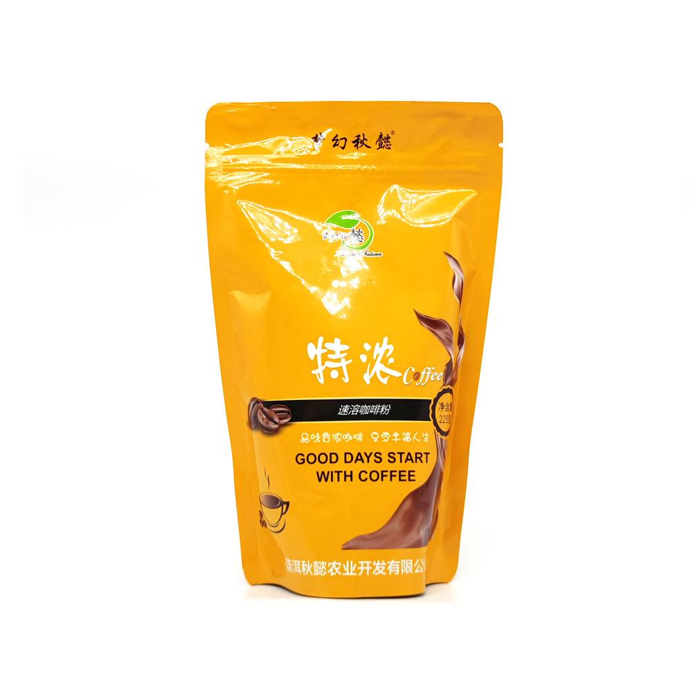 特浓速溶咖啡粉