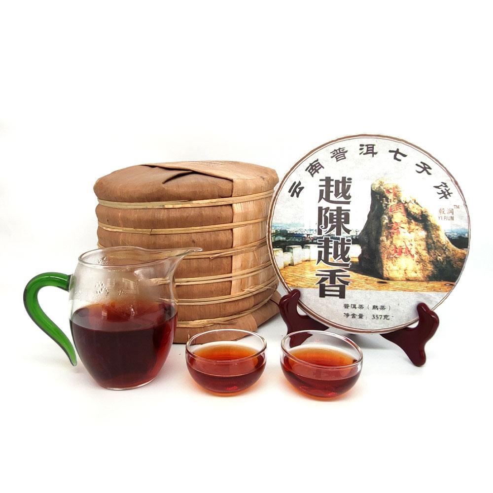 越陈越香普洱熟茶