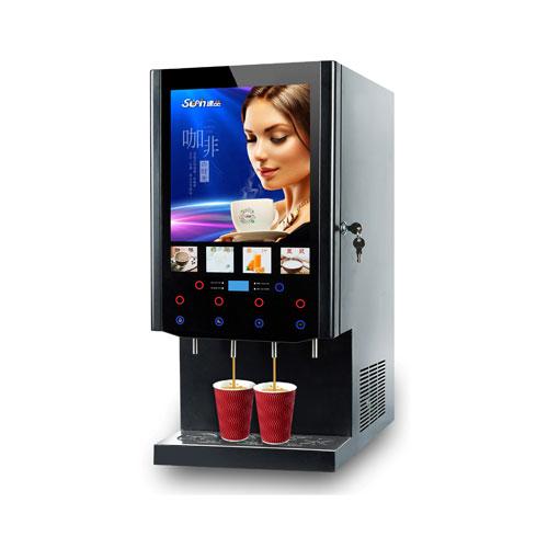 四料咖啡饮水机(冰热款-速溶型)